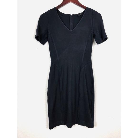 1d02b587a1 Theory Dresses | Navy Blue Sheath Dress Sz 4 | Poshmark